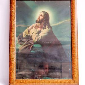 Αντίγραφο εικόνας Χριστού προσευχόμενου