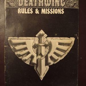 ΒΙΒΛΙΟ DEATHWING RULES & MISSIONS