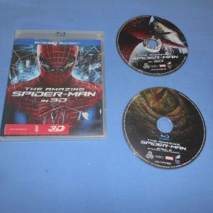 THE AMAZING SPIDERMAN IN 3D - BLURAY