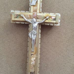 Vintage σταυρος διακοσμητικός τοιχου