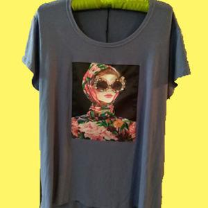 Μοβ T-shirt