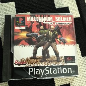 MILLENNIUM SOLDIER EXPENDABLE SONY PLAYSTATION 1 PS1