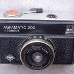 Agfa Agfamatic 200 sensor - 1972