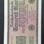 Χαρτονόμισμα ,1000 Γερμανικά Μάρκα.