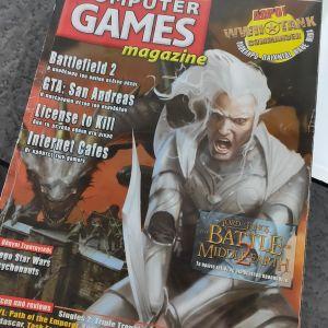 Συλλογή από παλιά τεύχη Computer Games Magazine