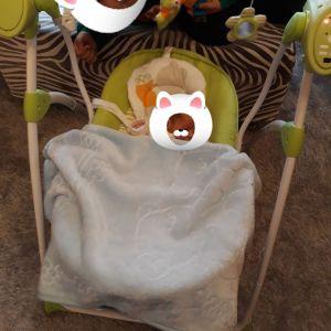 Ηλεκτρικο ριλαξ κούνια μωρού