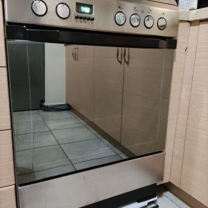 Ηλεκτρική κουζίνα Indesit 61lt με Εστίες Κεραμικές I6VMC6A (X) GR POP