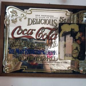 πουλιέται καθρέφτη coca-cola