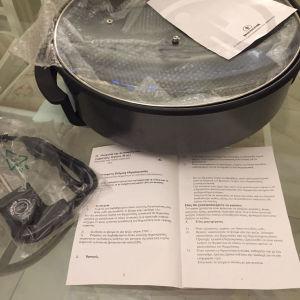 Ατμομαγειρας Τεπανυακι κ για τηγανητα Αμεταχειριστος 0,40εκ συνοδευεται κ απο τοβιβλιαρακι του