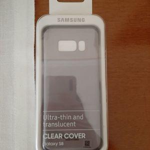 Samsung Galaxy S8 Clear Translucent Θήκη