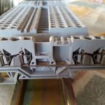 Ραγα ηλεκτρολογικη με κλεμες για υλικά ράγας