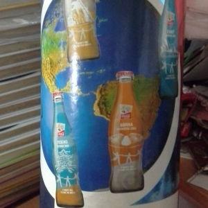 Coca Cola συλλεκτική από την διαδρομή της Ολυμπιακής  Φλόγας το 2004