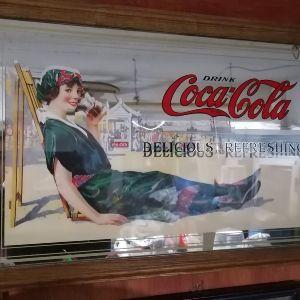 Συλλεκτικός Καθρέφτης της Coca Cola 73x48