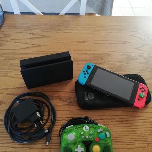 Nintendo switch blue red σε άριστη κατάσταση.