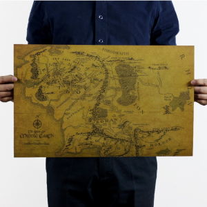 Συλλεκτικος Χαρτης Αρχοντας Των Δαχτυλιδιων - Middle Earth