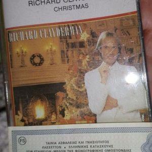 RICHARD CLAYDERMAN-CHRISTMAS-ΚΑΣΣΕΤΑ ΣΦΡΑΓΙΣΜΕΝΗ