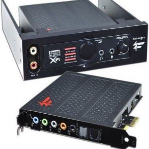 Creative PCI Express Sound Blaster X-Fi Titanium Fatal1ty Champion Series Sound Card
