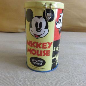 Vintage μεταλλικος κουμπαρας Μικυ Μαους