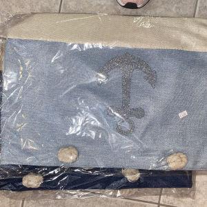 τσάντα παραλιας με άγκυρα 1