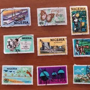 Γραμματόσημα από Νιγηρία Συλλεκτικά Άριστη Κατάσταση 11 τεμάχια