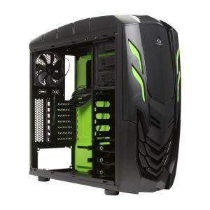 RAIDMAX Viper GX ATX-512WBG Black / Green Steel / Plastic ATX Mid Tower Computer Case