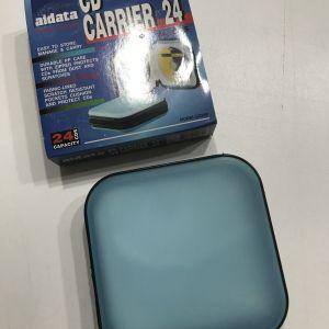 Aidata CD Carrier: σκληρή θήκη μεταφοράς 24 CD ή DVD