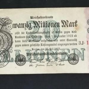 Χαρτονόμισμα Συλλεκτικό Γερμανιας(2)