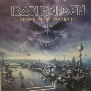IRON MAIDEN BRAVE NEW WORLD DOUBLE PICTURE DISC LP