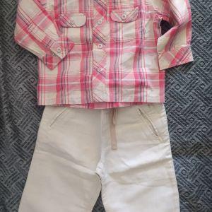 Βρεφικά ρούχα σετ 3 τεμάχια έως 18 μηνών