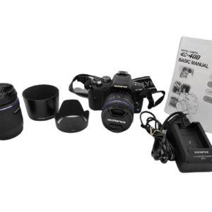 Ψηφιακή φωτογραφική μηχανή DLSR OLYMPUS E-400 ΠΛΗΡΕΣ ΣΕΤ