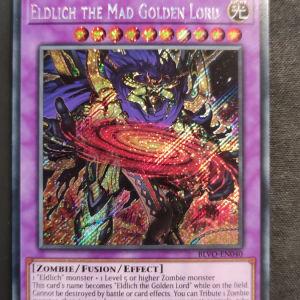 Eldlich the Mad Golden Lord Secret Rare