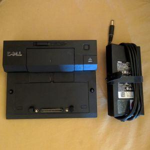 Dell Docking Station PR03X & Dell 130 Watt Adapter