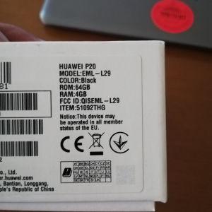 Huawei p20 dual.