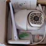 Κάμερα ασφαλείας 5mpx HD WiFi εσωτερικού και εξωτερικού χώρου με χειρισμό από το κινητό-τάμπλετ