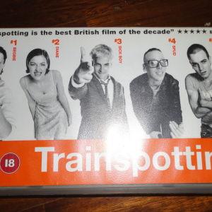 Trainspotting αυθεντική βιντεοκασέτα με αγγλικούς υπότιτλους (ΔΕΝ ΕΧΕΙ ΕΛΛΗΝΙΚΟΥΣ ΥΠΟΤΙΤΛΟΥΣ)