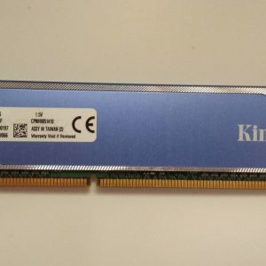 KINGSTON RAM DDR3 8GB (2x4GB) 1333mhz