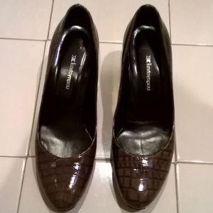 Παπούτσια καφέ Καλογήρου