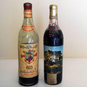 Κρασί Σάμου και πολύ παλιό μπράντι Bertocchini (σπάνια και συλλεκτικά)