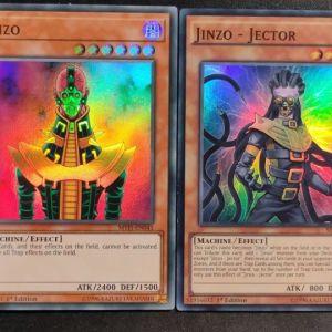 Jinzo Super Rare + Jinzo Jector Super Rare