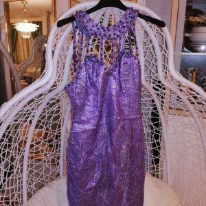 Φόρεμα μωβ M νούμερο