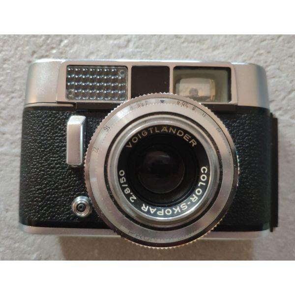 VOIGTLANDER VITO CL me fako COLOR SKOPAR 50mm f2.8
