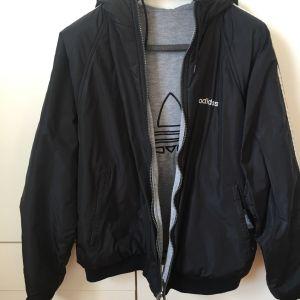 Adidas 3 stripes double face jacket