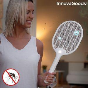 Ρακέτα για τα κουνούπια, επαναφορτιζόμενη με φως LED Rackill InnovaGoods