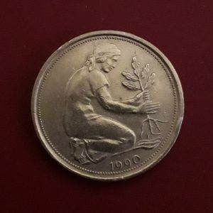 Παλαιό γερμανικό, συλλεκτικό νόμισμα του 1990.