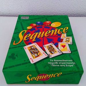 ''Sequence''  Parker Hasbro 1997 Επιτραπέζιο Παιχνίδι