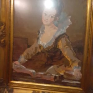 Handmade old frame 90x70