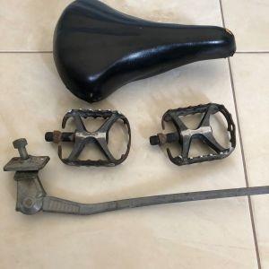 Σέλα ποδηλάτου Vintage πετάλια, stand Retro