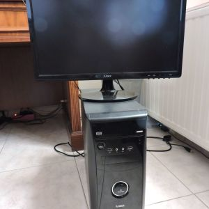 Η/Υ TURBO-X + Οθόνη 21,5''΄με ενσωματωμένα ηχεία + Windows 10 HOME