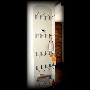 Ράφια τοίχου εναπόθεσης  ( προϊόντων )