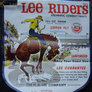 jean LEE RIDERS του 1961 απο California, USΑ